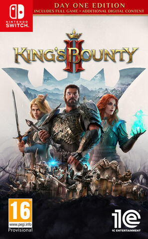 jaquette King's Bounty II Day One Edition