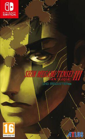 jaquette Shin Megami Tensei III Nocturne Hd Remaster