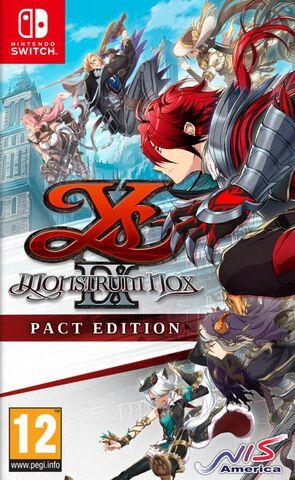 jaquette Ys IX Monstrum Nox Pact Edition