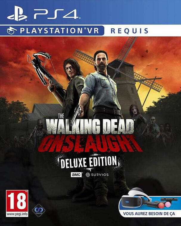 jaquette The Walking Dead Onslaught Deluxe Vr