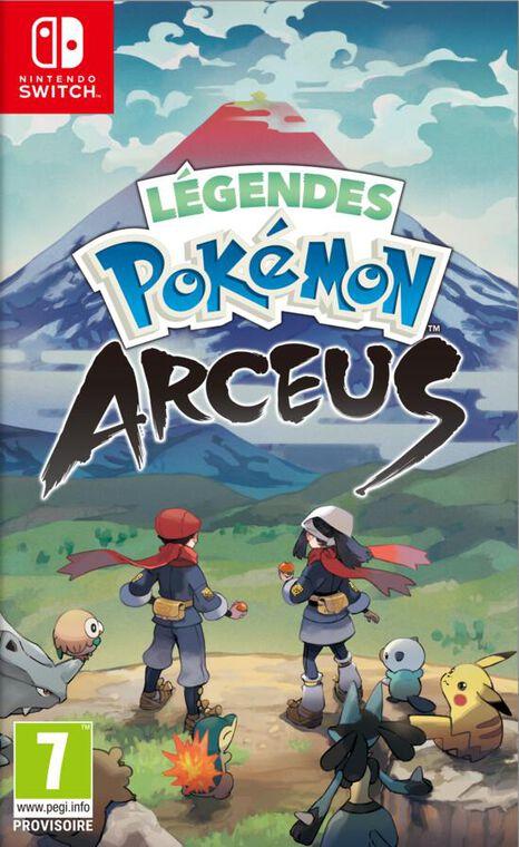 jaquette Legendes Pokemon Arceus