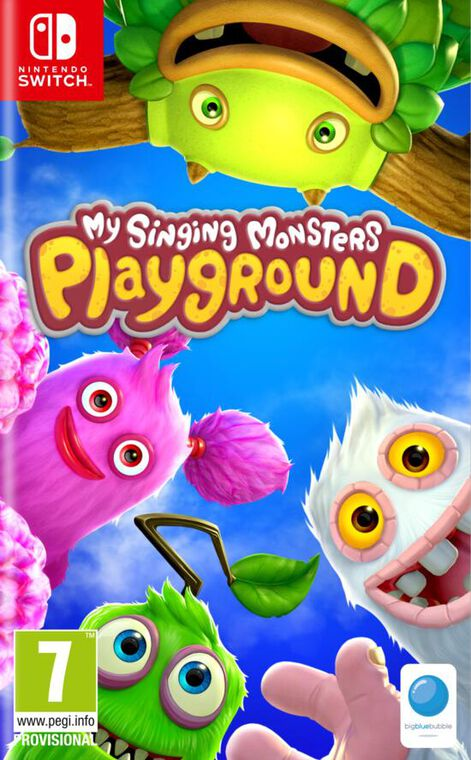 jaquette My Singing Monsters Playground